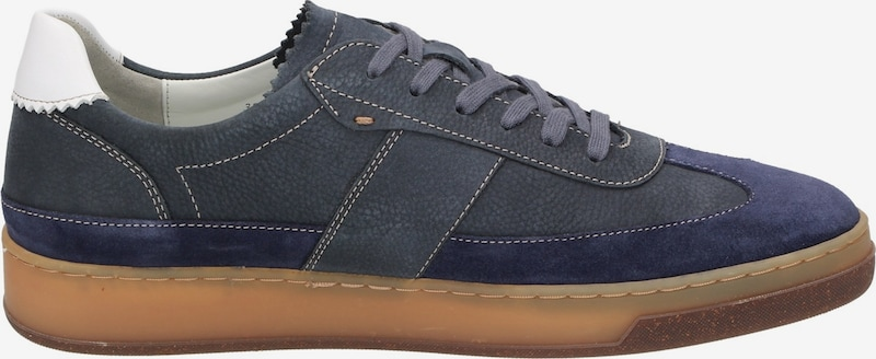 SIOUX Sneakers laag 'Hopper' in Marine / Violetblauw d3wUftRt