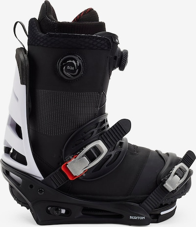 BURTON Snowboardbindung in schwarz / weiß, Produktansicht