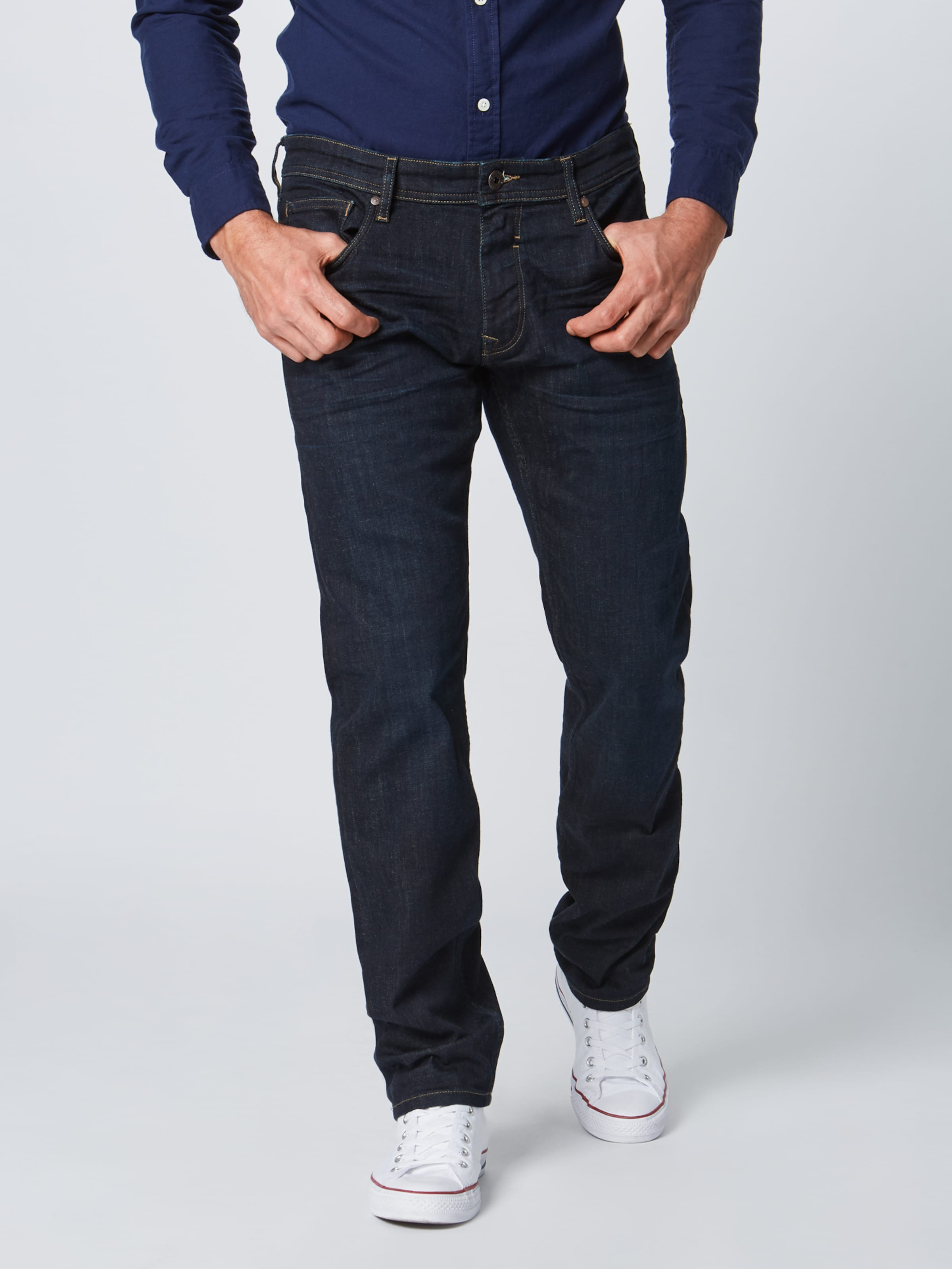 Denim In Blue Esprit Pants' Jeans 'ocs Straight 0kwOPn