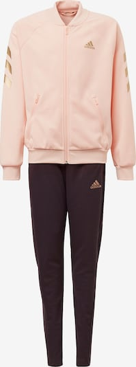 ADIDAS PERFORMANCE Trainingsanzug in gold / rosa / schwarz, Produktansicht
