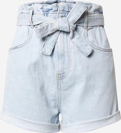 Gina Tricot Jean 'Paperbag' en bleu denim, Vue avec produit