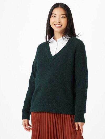 SELECTED FEMME Pullover 'Lulu' in dunkelgrün, Modelansicht