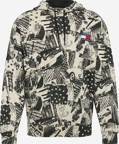 Bluză de molton Tommy Jeans pe culori mixte / negru / offwhite, Vizualizare produs