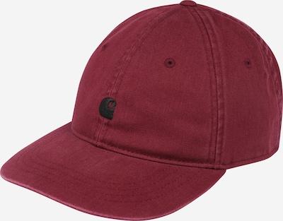 Șapcă 'Madison' Carhartt WIP pe roșu vin / negru, Vizualizare produs