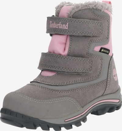 TIMBERLAND Snow boots in grey / pink, Item view