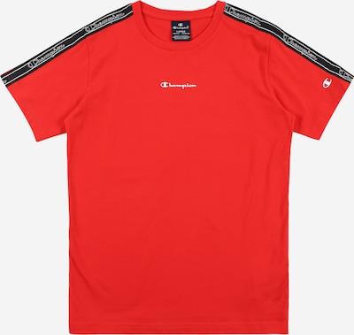 Champion Authentic Athletic Apparel Koszulka w kolorze czerwony / czarnym: Widok z przodu