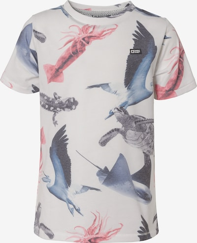 TUMBLE N' DRY T-Shirt in mischfarben / weiß, Produktansicht