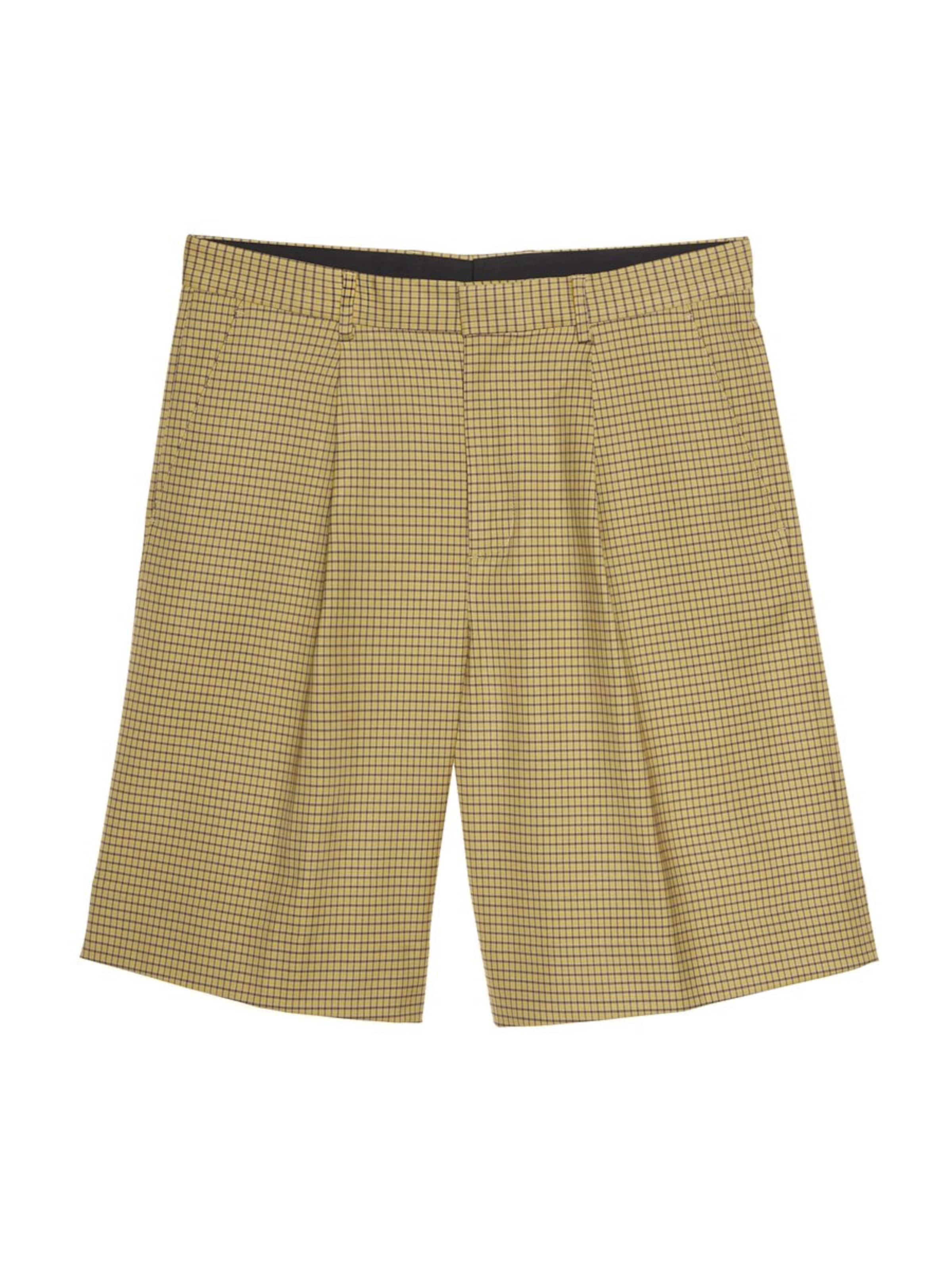 Shorts 'pleated In J Check' lindeberg Micro BeigeSand thdsQrC