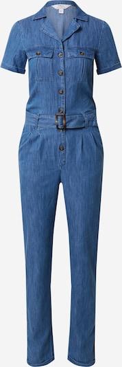 Dorothy Perkins (Tall) Overall in blue denim, Produktansicht
