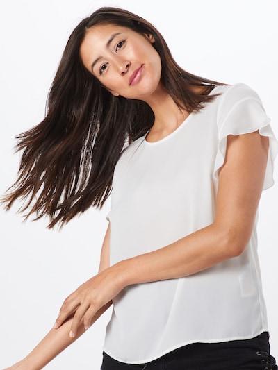 VILA Blusenshirt in weiß: Frontalansicht