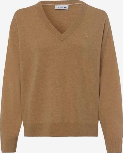 LACOSTE Pullover in beigemeliert, Produktansicht