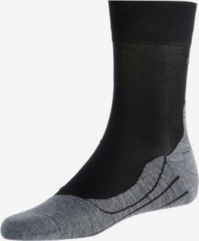 FALKE RU4 Laufsocken Herren in grau / schwarz, Produktansicht