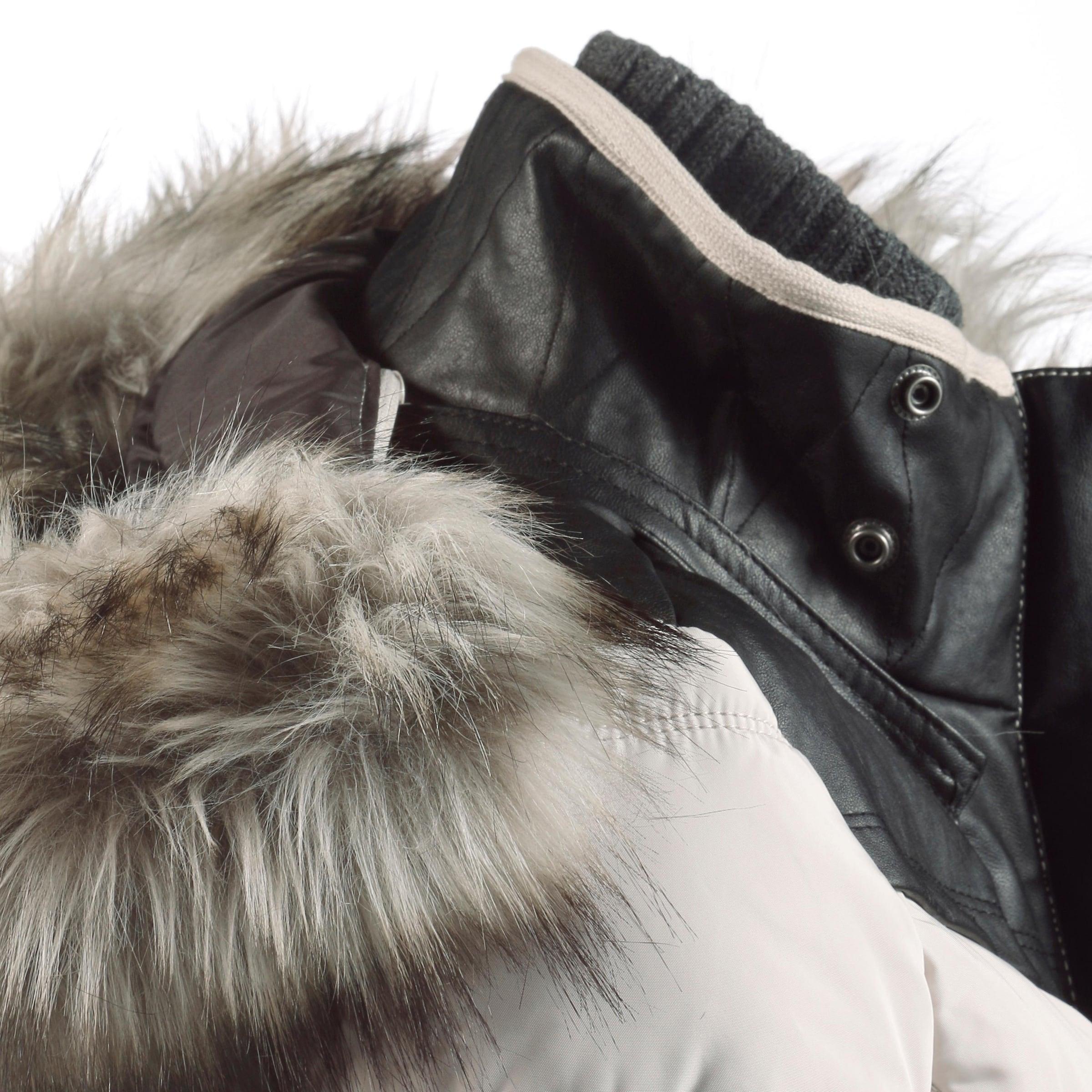 khujo Khujo 'WINSEN II WITH RIB COLLAR' Kapuzenjacke Damen Günstiger Preis Auslass Verkauf vgihiJO