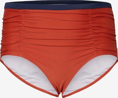 Junarose Bas de bikini en bleu foncé / orange, Vue avec produit