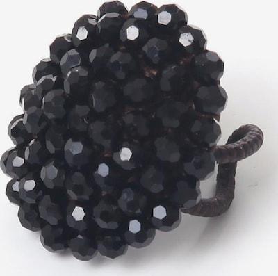 COLLEZIONE ALESSANDRO Ring 'R2695A - F01' in schwarz, Produktansicht