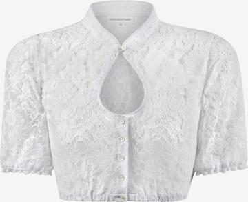 STOCKERPOINT Bluse in Weiß
