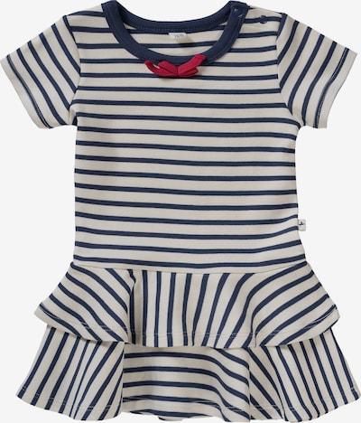 Leela COTTON Kleid in blau / wollweiß, Produktansicht