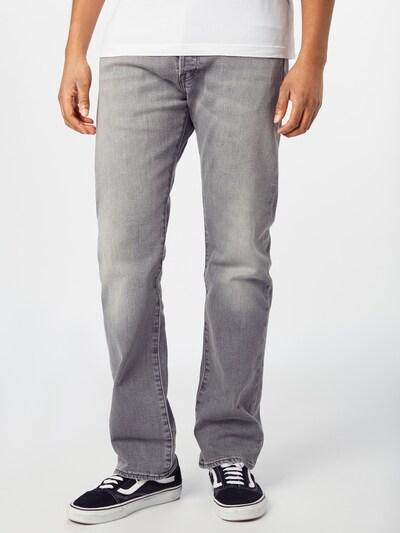 LEVI'S Jeans '501 ORIGINAL FIT' i grå, Modelvisning