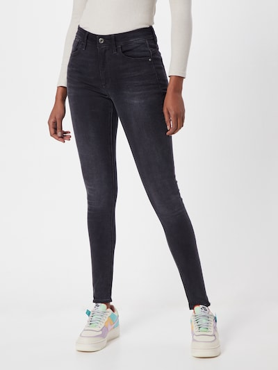 G-Star RAW Jeans 'Lhana' in de kleur Black denim, Modelweergave