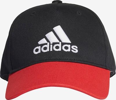 ADIDAS PERFORMANCE Cap in rot / schwarz, Produktansicht