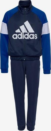 ADIDAS PERFORMANCE Trainingsanzug 'Bos' in blau / marine / weiß, Produktansicht