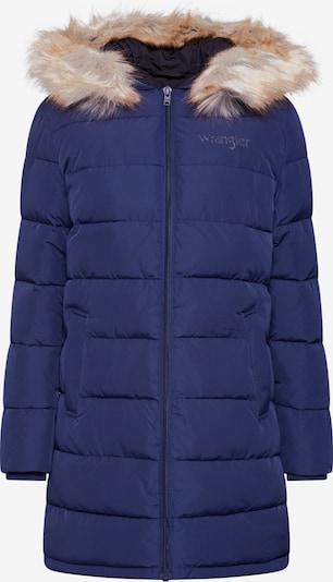 WRANGLER Zimní bunda 'LONG PUFFER' - námořnická modř, Produkt