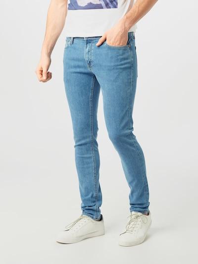 JACK & JONES Jeans 'JJILIAM JJORIGINAL AM 631 50SPS' in blue denim, Modelansicht