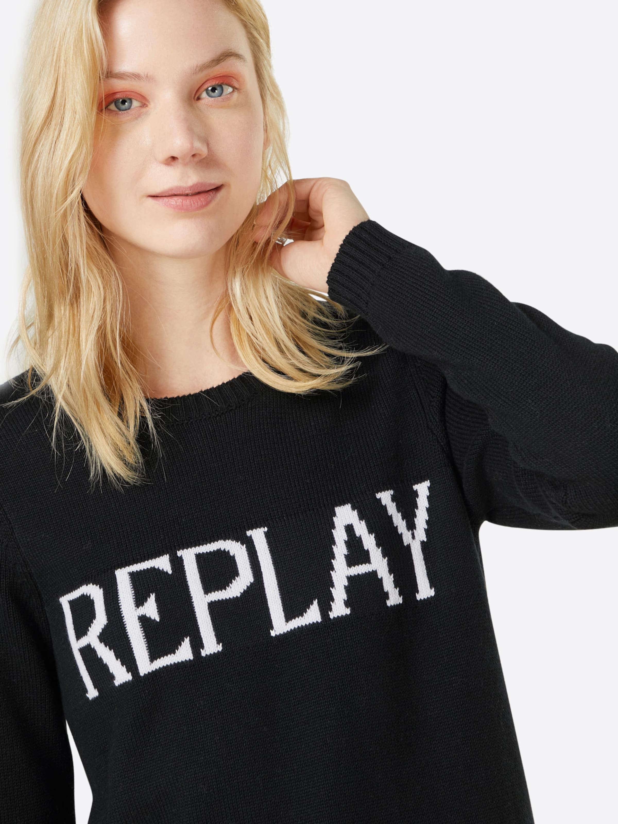 REPLAY Pullover 'Masche' Günstig Kaufen Großen Rabatt Angebote Günstig Online Rabatt Offizielle Seite uN79Zt2