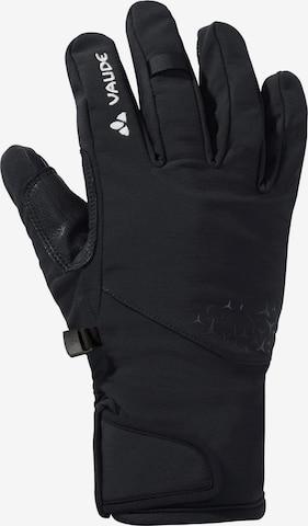 VAUDE Full Finger Gloves 'Lagalp II' in Black