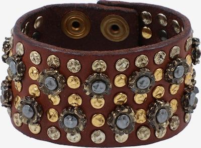 Campomaggi Armband in de kleur Bruin / Goud / Zilver, Productweergave