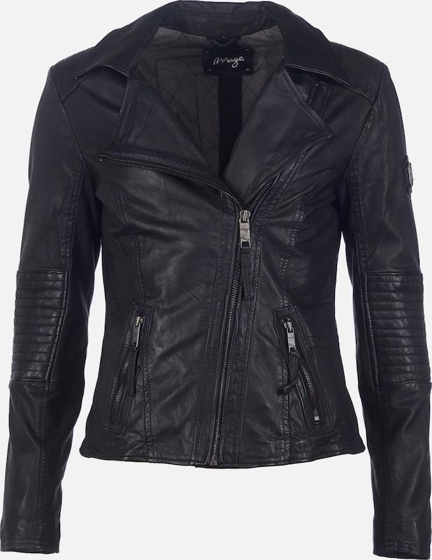 Maze Lederjacke  'Montevideo' in schwarz  Neue Kleidung in dieser Saison