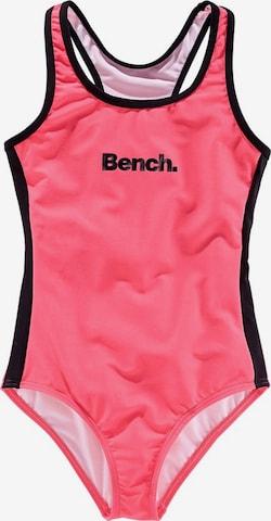 BENCH Badeanzug in Pink