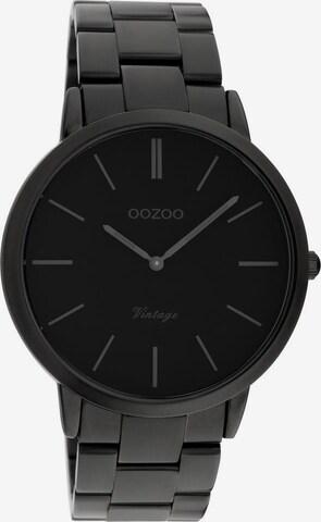 OOZOO Uhr in Schwarz