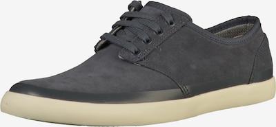 CLARKS Sneaker in creme / blau: Frontalansicht