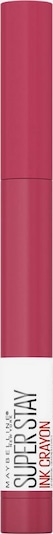 MAYBELLINE New York Lippenstift 'Super Stay Ink Crayon' in pink, Produktansicht