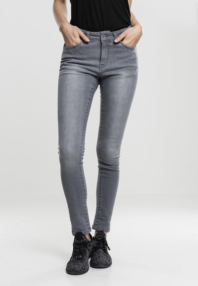 Urban Classics Jeans in grey denim, Modelansicht