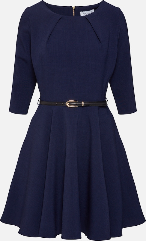 En London Bleu Marine De Closet Robe Cocktail OkPiXZu