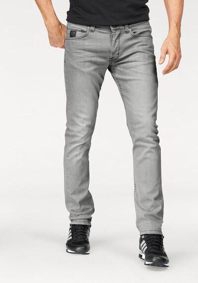 BRUNO BANANI Jeans 'Jimmy' in grey denim, Modelansicht