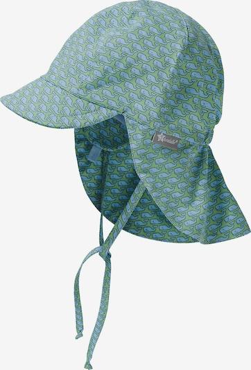 STERNTALER Schirmmütze in hellblau / hellgrün, Produktansicht
