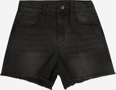 NAME IT Shorts 'NKFRANDI' in black denim, Produktansicht