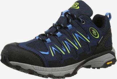 Brütting Lage schoen in de kleur Blauw / Zwart, Productweergave
