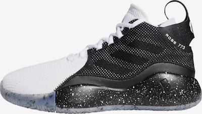 ADIDAS PERFORMANCE Basketballschuh 'Rose' in schwarz / weiß, Produktansicht