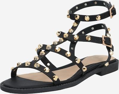 Sandale cu baretă 'Gladiator' Missguided pe negru, Vizualizare produs