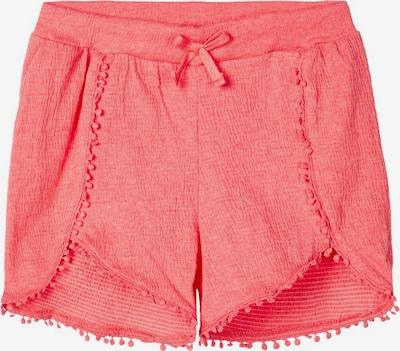 NAME IT Gummizugbund Shorts in rot, Produktansicht