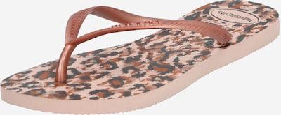 HAVAIANAS Japonki w kolorze brązowy / złoty / różanym, Podgląd produktu