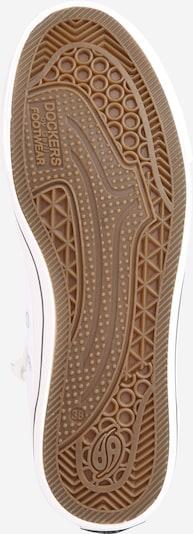 Dockers by Gerli Sneakers '38AY603' in weiß: Ansicht von unten