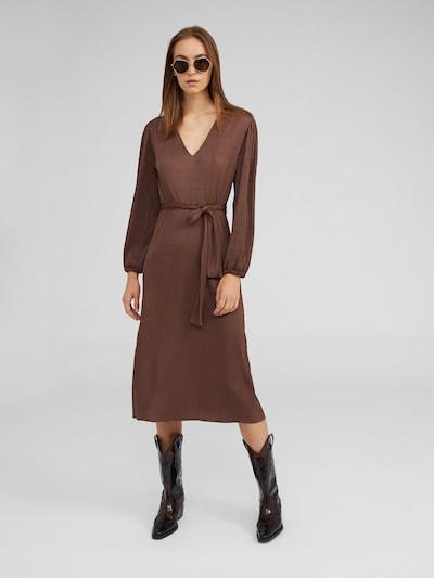 Kokteilinė suknelė 'Tasmin' iš EDITED , spalva - ruda: Vaizdas iš priekio
