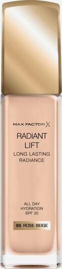 MAX FACTOR Foundation 'Radiant Lift' in rosa, Produktansicht