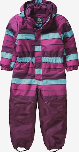 COLOR KIDS Schneeanzug 'KLEMENT' in lila / dunkellila, Produktansicht