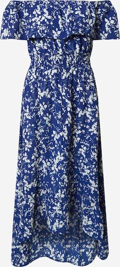 Mela London Kleid 'Bardot' in blau / weiß, Produktansicht